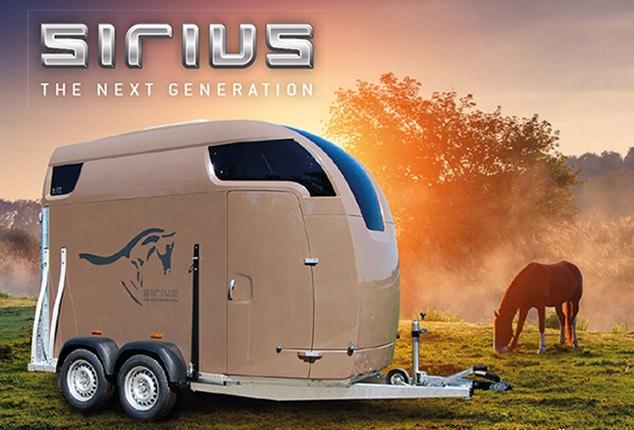 Über uns, Sirius Pferdeanhänger, Abbildung Sirius S77 Polyester
