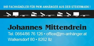 JM-Anhänger Visitenkarte, JM PKW-Anhänger Verkauf Österreich